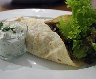 Orientalisch essen im MIR in Wien