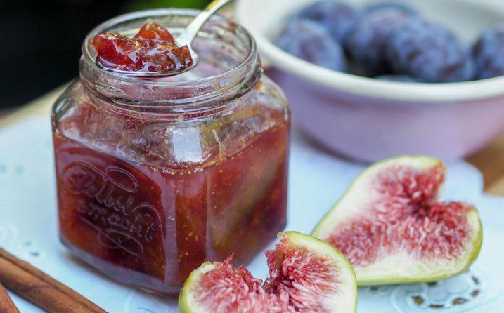 Feigen-Zwetschken-Marmelade