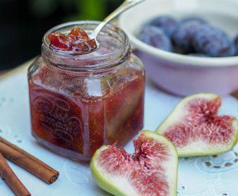 Feigen-Zwetschken Marmelade